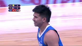 SEA Games 2019: Philippines VS Myanmar Basketball Men's Division