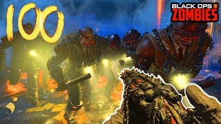 ROUND 100.... BUT IT'S WARDENS ONLY! (Black Ops 4 Blood of the Dead)