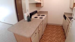 2 Bedroom / 1 Bath / 1 Car Garage Floor Plan At The Meadows Apartments In New Castle, Pa