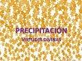 Precipitación - Virtudes Divinas-