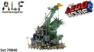 Lego Movie 2 70840 Welcome to Apocalypseburg! - Lego 70840 Speed Build