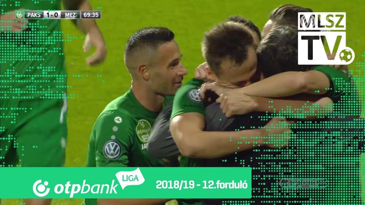 Gévay Zsolt gólja a Paksi FC - Mezőkövesd Zsóry FC mérkőzésen