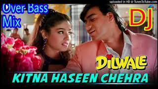 Kitna Haseen Chehra    Over Bass Hard Dholki Love Mix    Dj Song