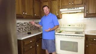Art3d Peel and Stick Tile Kitchen Backsplash Installation