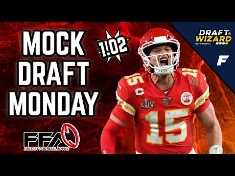 Fantasy Football Mock Draft - 2020 Fantasy Football Advice | 10 Team | Half PPR | 2nd Pick