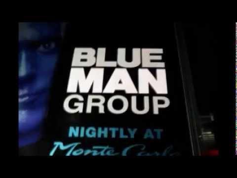 Publicité véhicule Blue Man Group