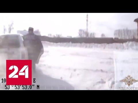В Иркутской области своей скоростью прославился старший лейтенант полиции - Россия 24