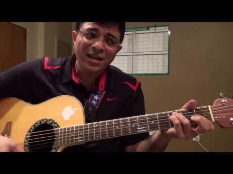 Poongathave Thaazh Thivarai Illayaraja Tamil Song Guitar Chord Lesson By Suresh