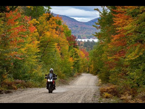 Western Maine October Motorcycle Trip