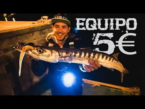 RETO Pesca con el equipo de ICE FISHING más barato   Lured Vlog 79