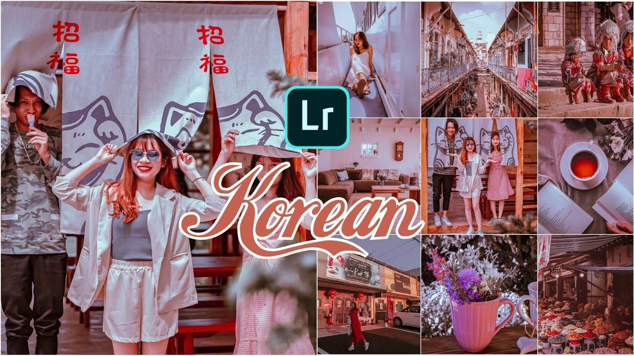 Korean Preset | Lightroom Mobile Presets Free Dng Xmp | Chỉnh màu Hàn Quốc Lightroom | Free DNG
