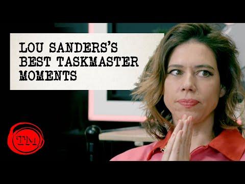 Lou Sanders's Best Taskmaster Moments