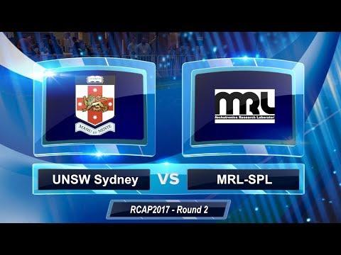 2017 RoboCup Asia-Pacific - Round 2 - UNSW Sydney Vs MRL-SPL