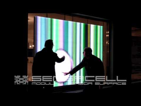 Robert Stratton Interactive LED Art.mov