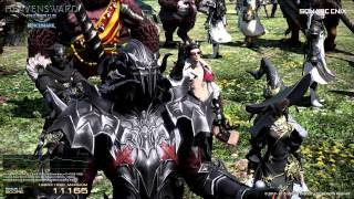 The Mighty Kong (GTX Titan X) does the new Heavensward Final Fantasy benchmark