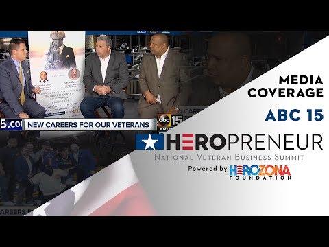 HeroPreneur NVBS 2018 on ABC 15 Mornings
