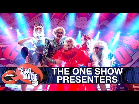 The One Show presenters perform Lady Gaga's 'Born This Way' - Let's Sing and Dance for Comic Relief