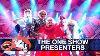 The One Show presenters perform Lady Gaga