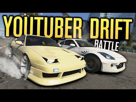 YOUTUBER DRIFT BATTLE | ADAM LZ VS TJ HUNT | Need for Speed Payback