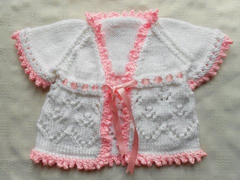 29c109b99 Easy to crochet baby sweater   Crochet baby cardigan - YouTube