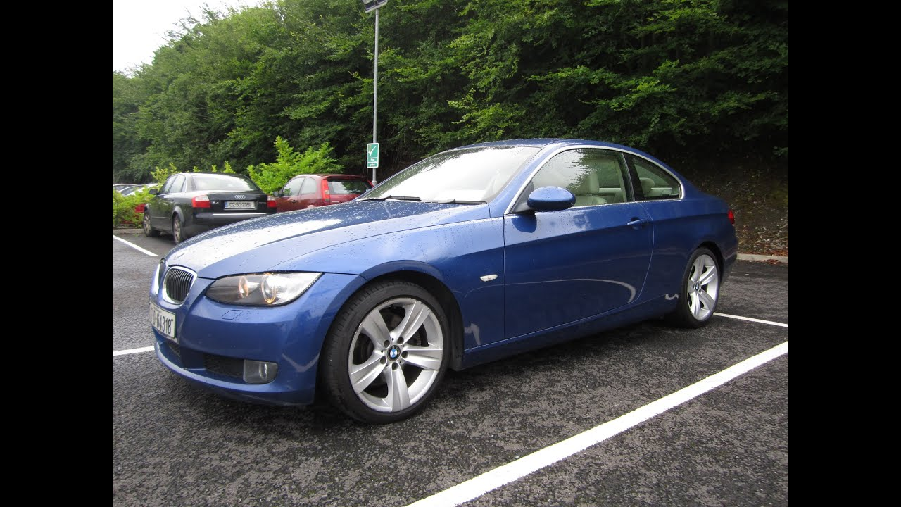 review 2007 bmw 325i se coupe e92 youtube