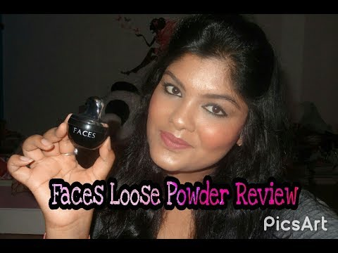 Faces Mineral loose Powder Review | Mini Review | Giveaway Month