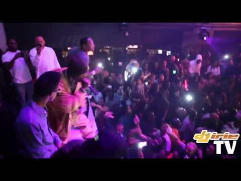 Lil Wayne shows love for DMX at LIV Nightclub. Then DMX performs LIVE! 1/1/12