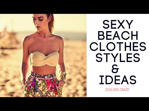 Summer clothes and beach clothing style ideas for girls |HD|