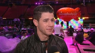 Kids' Choice Awards Host Nick Jonas Warns: No One's Safe From The Slime!