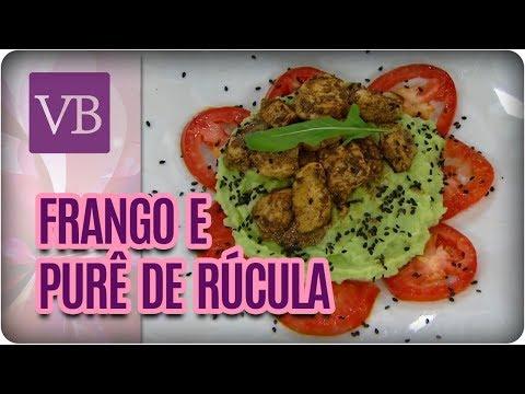 Frango Funcional e Purê de Rúcula - Você Bonita (10/04/18)