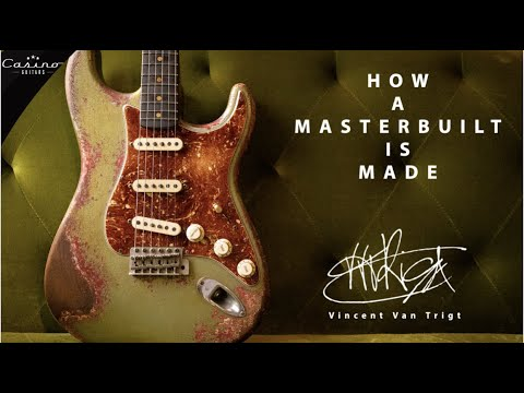 How A Fender Custom Shop Masterbuilt Is Made  A Vincent Van Trigt Stratocaster