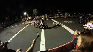 Red Hook Crit 2013 Crash in Slow Motion -  Brooklyn Navy Yard