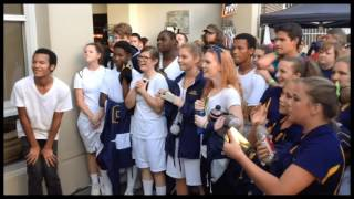 Buckhorn High School at the Hoover Invitational Marching Festival