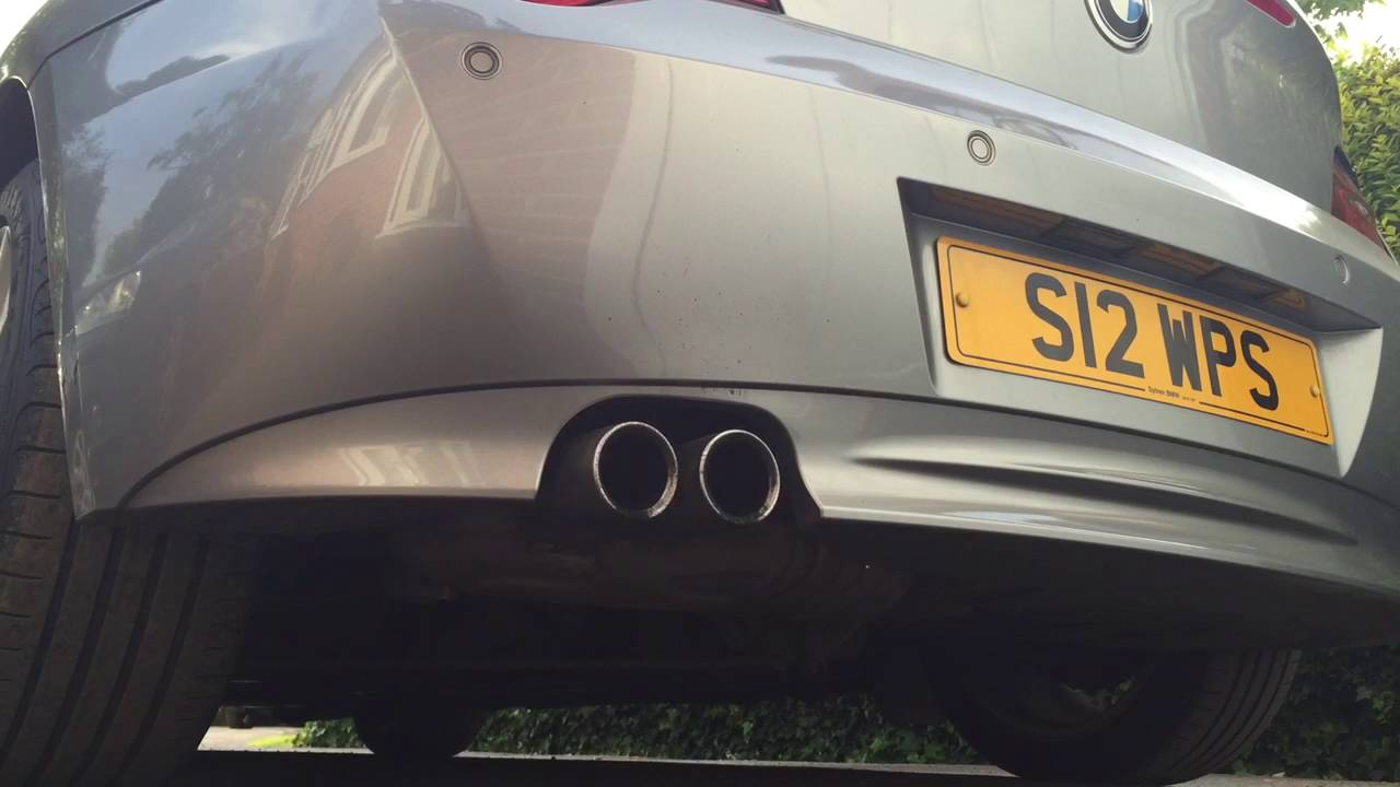 BMW Z4 30si Coupe Exhaust Sound  YouTube