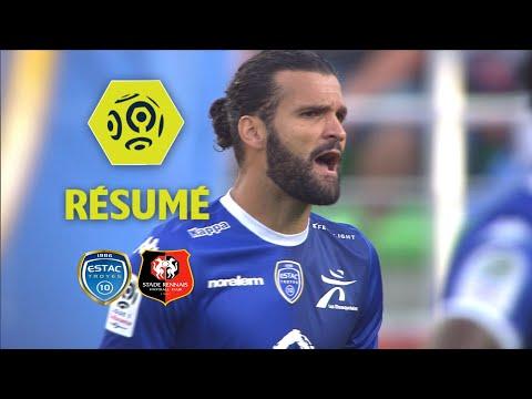 ESTAC Troyes - Stade Rennais FC (1-1)  - Résumé - (ESTAC - SRFC) / 2017-18