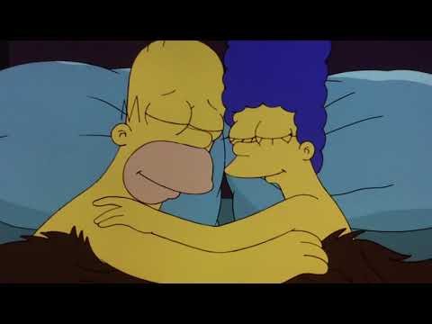Kiss homer marge The Simpsons