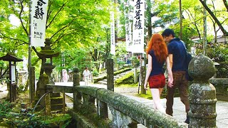 日本の夏 Japan's Beautiful Mt. Tanigumi and Kegon-ji Temple 山歩 岐阜県 谷汲山 (華厳寺)