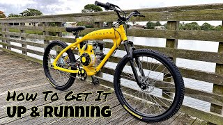 Phatmoto Rover 2020 [Motorized Bicycle]  79cc 4 Stroke  Unboxing & Installation Tutorial