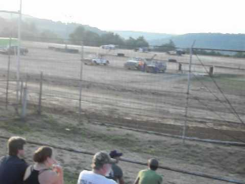 7/7/12 late model heat at marion center speedway