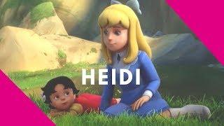 Heidi 🌸 ¡Qué bonitas montañas!