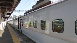 秋田新幹線E6系こまち30号東京行大曲駅発車※発車メロディー「夢の空」」あり