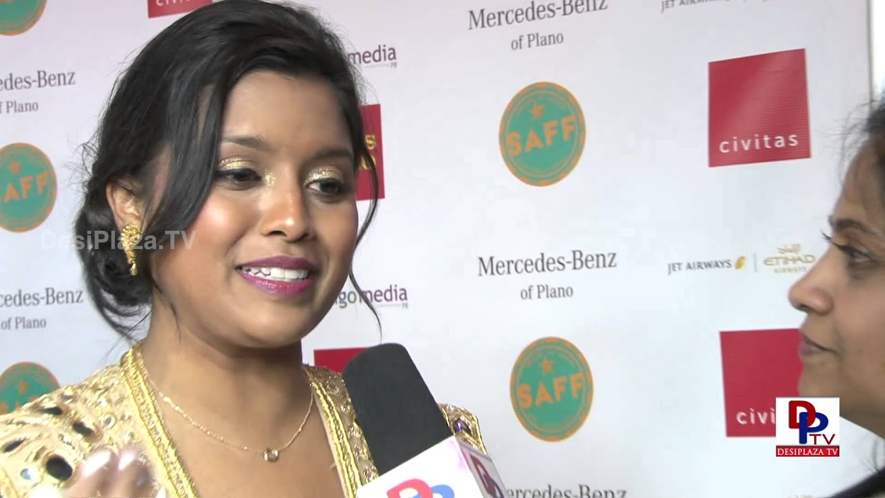 Ms.Tiya Sircar, actress speaking to Desiplaza TV at South Asian Film Festival in Dallas.