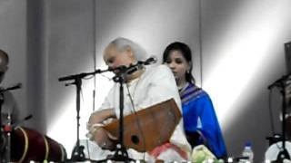 Pandit Jasraj Bandish at Delhi Classical Music Festival 2011