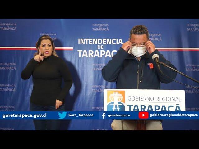 Punto de prensa 02 de septiembre de 2020 - Gobierno Regional de Tarapacá
