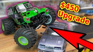 Expensive Upgrade - Worth it? RC Grave Digger Monster Jam Truck