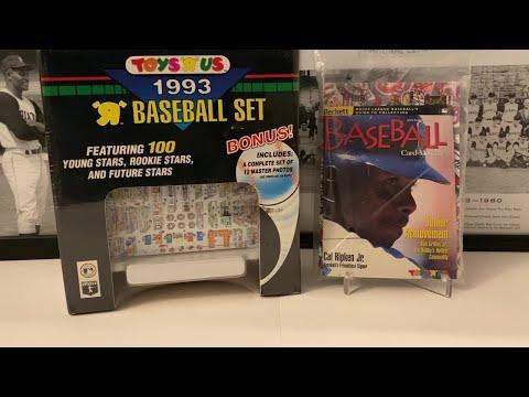 1993 Topps Toys R Us Baseball Set Break + 1998 Beckett Toys R Us Mystery Bag!