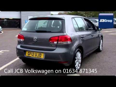 2012 Volkswagen Golf MATCH TSI 1.4l Steel Grey Metallic GF12UJD for sale at JCB VW Medway