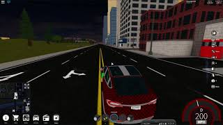 Roblox | Vehicle Simulator | Audi R8 vs Tesla Model X (speed test)