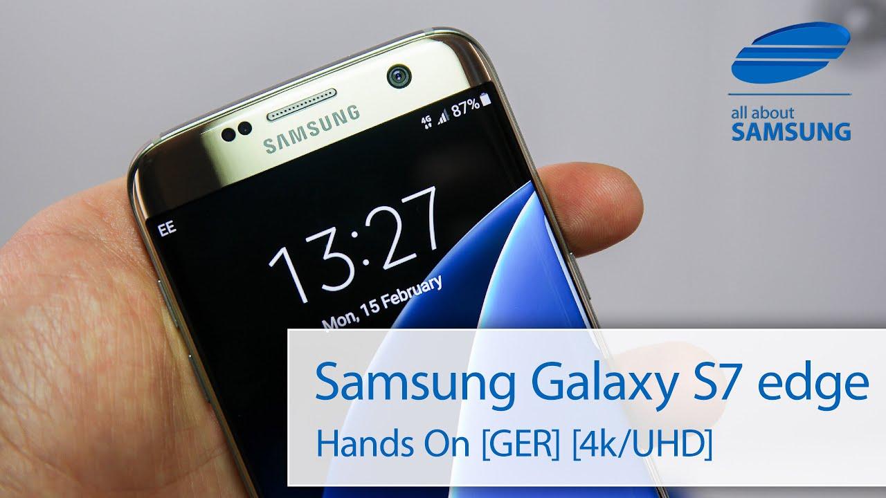Samsung galaxy s7 edge unboxing deutsch 4k youtube - Samsung Galaxy S7 Edge Unboxing Deutsch 4k Youtube 1