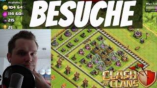 SPEZIAL BESUCHE!    CLASH OF CLANS    Let's Play CoC [Deutsch/German HD]